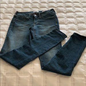 Jessica Simpson Kiss Me Super Skinny jeans 26